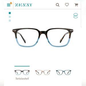 Tortoiseshell Blue Ombre Non Perscription Glasses